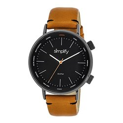 Simplify The Men's Watch: Mustard Band/3300 Sim3307