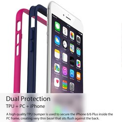 Araree Hue Mobile Bumper Case Cover for Apple iPhone 6 - White
