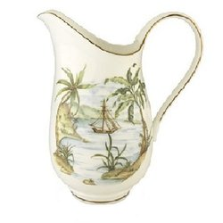 British Colonial Large Pitcher No Color