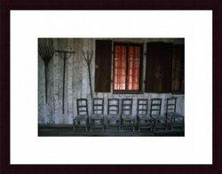 Printfinders Porch Of Bolduc House Museum by Randy Olson Wood Framed Art Print