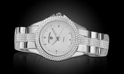 Swiss Diamonds Women's Genuine Diamond Watch - White/White