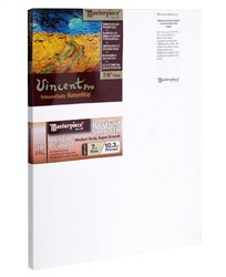 "Masterpiece Vincent PRO 7/8"" Deep, 40 x 40 Inch, Carmel Portrait Smooth Cotton Canvas"