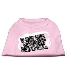 "Mirage Pet ""My Kind Of Gas Screen"" Print Shirts - Light Pink - Size: XXL"