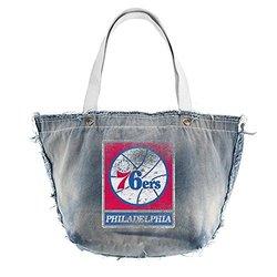 Philadelphia 76ers Vintage Tote (Denim)