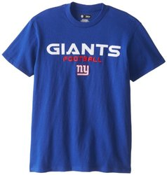 NFL New York Giants Men's Line of Scrimmage VI T-Shirt - Deep Royal - S