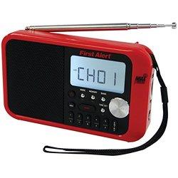 First Alert Clock Rad W/ Wthr Alrt