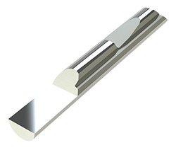 "Micro 100 QSP-375-2.0 Quick Change Split Blank, Solid Carbide Tool, 0.5000"" (12.7 mm) Split Length, 0.935"" (23.7 mm) Usable Neck, 0.3750"" (9.5 mm) Shank Diameter, 2"" (51 mm) Overall Length"
