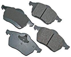 Akebono EUR555A EURO Ultra-Premium Ceramic Brake Pad Set