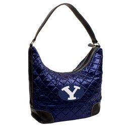 NCAA Brigham Young Cougars Team Color Quilted Hobo