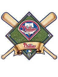 WinCraft MLB Philadelphia Phillies High Definition Wall Clock