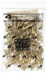 Gold Tip 110-Grain Laser II and III Brass Arrow Inserts - 100 Count