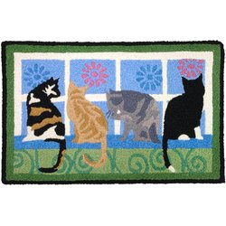 Jellybean Ralphie & Lulu Indoor Outdoor Rug
