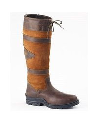 Ovation Ladies Duncan County Boots Brown