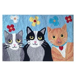 Comfort Home Jellybean Rug - Kat Krazy (C) - Washable