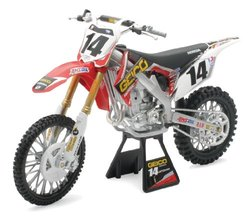 New Ray Toys 1:6 Scale Racer Replica Geico Powersports Kevin Windham 2012