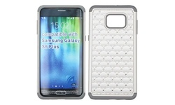 Galaxy S6 Edge Plus Case Cover Insten Dual Layer-Gray