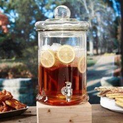 Classic Glass Beverage Dispenser (Pack Of 1 Ea)