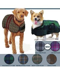 Centaur Dog Blanket - Size:24 Color:Blue Corn Plaid