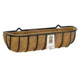 World Source Partners Blacksmith Wall Trough With Coco Liner 36 Inch R968