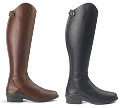 Ovation Aeros Elite Tall Boot-6.5-7 (37)-Medium Brown-Calf Width- Regular Calf