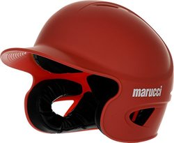 Marucci Adult Team Speed Batting Helmet, Red, Large