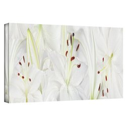 2in H X 24in W Lily Landscape by Cora Niele - Piece 1