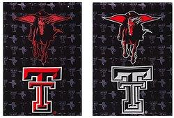 NCAA Double Sided Metallic Garden Flag: Texas Tech