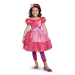 Disguise 84485M Cherry Jam Deluxe Costume, X-Small (3T-4T)
