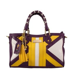 Littlearth NBA Los Angeles Lakers Suite Team Moto Satchel Bag - Purple
