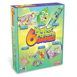 Junior Learning Different Number Pattern Games - Set Of 6