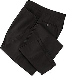 Adams USA Smitty Men's Flat Front Referee Pants (Black, 44-Inch)