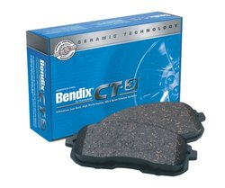Bendix D751CT CT 3 Brake Pad Set for Vehicles