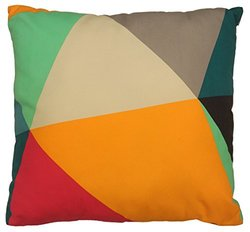 "Color Block by Artistic Linen Decorative Throw Pillow, 20 x 20"", Multicolor"