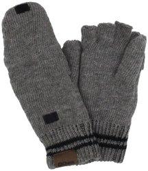 Chaos Men's Stark Ragg Wool Flip Mitten (Heather Grey, One Size)