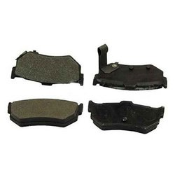 Beck Arnley 082-1205 Organic Disc Brake Pad