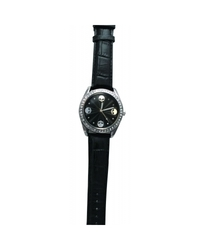 Zanheadgear Women's Highway Honey 'Mini Skulls' Watch - Black