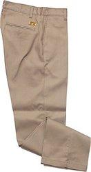 Lapco FR P-INKAC 32 UNH Advanced Comfort Uniform Pants, 32 Unhemmed, Khaki