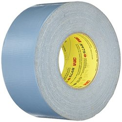 Duct Tape, 1 In x 60 yd, 12.1 mil, Blue