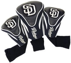 Team Golf San Diego Padres pc. Contour Head Cover Set 3, Pad Team