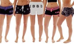EMD Coco Limon Women's Sleep Shorts - Assorted - Size: Medium - 5 Pack