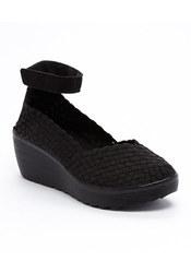 Serene Island Sutton Sandal - Black - Size: 6