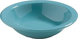 Carlisle 4386463 Dayton Melamine Grapefruit Bowl, 10 Oz., Turquoise (Set of 48)