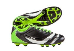 Acacia STYLE -37-105 Thunder Soccer Shoes - and Lime 10. 5Y black