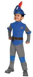 Mike The Knight Toddler Classic Costume - Blue/Gray - Size: 3T-4T