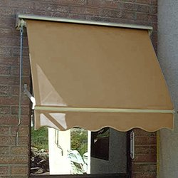 "Awntech 6 Ft Mesa Window Retractable Awning - Tan - Size: 24"" x 24"""