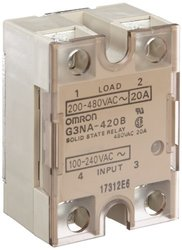 Omron Solid State Relay Zero Cross Function Yellow Indicator 100 - 240 V