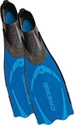 Cressi Men's Pluma Closed-Foot Diving Fin (Blue, 8.5/9.5)