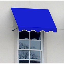 "Dallas Retro Open Ended Awning, 40.5""W x 44""H x 24""Proj"