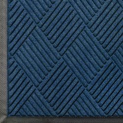 Andersen 208 WaterHog Entrance Indoor/Outdoor Floor Mat 8.4' x 6' - Navy