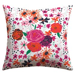 "Deny Designs Vy La Outdoor Throw Pillow - Blooming Love - Size: 18"" x 18"""